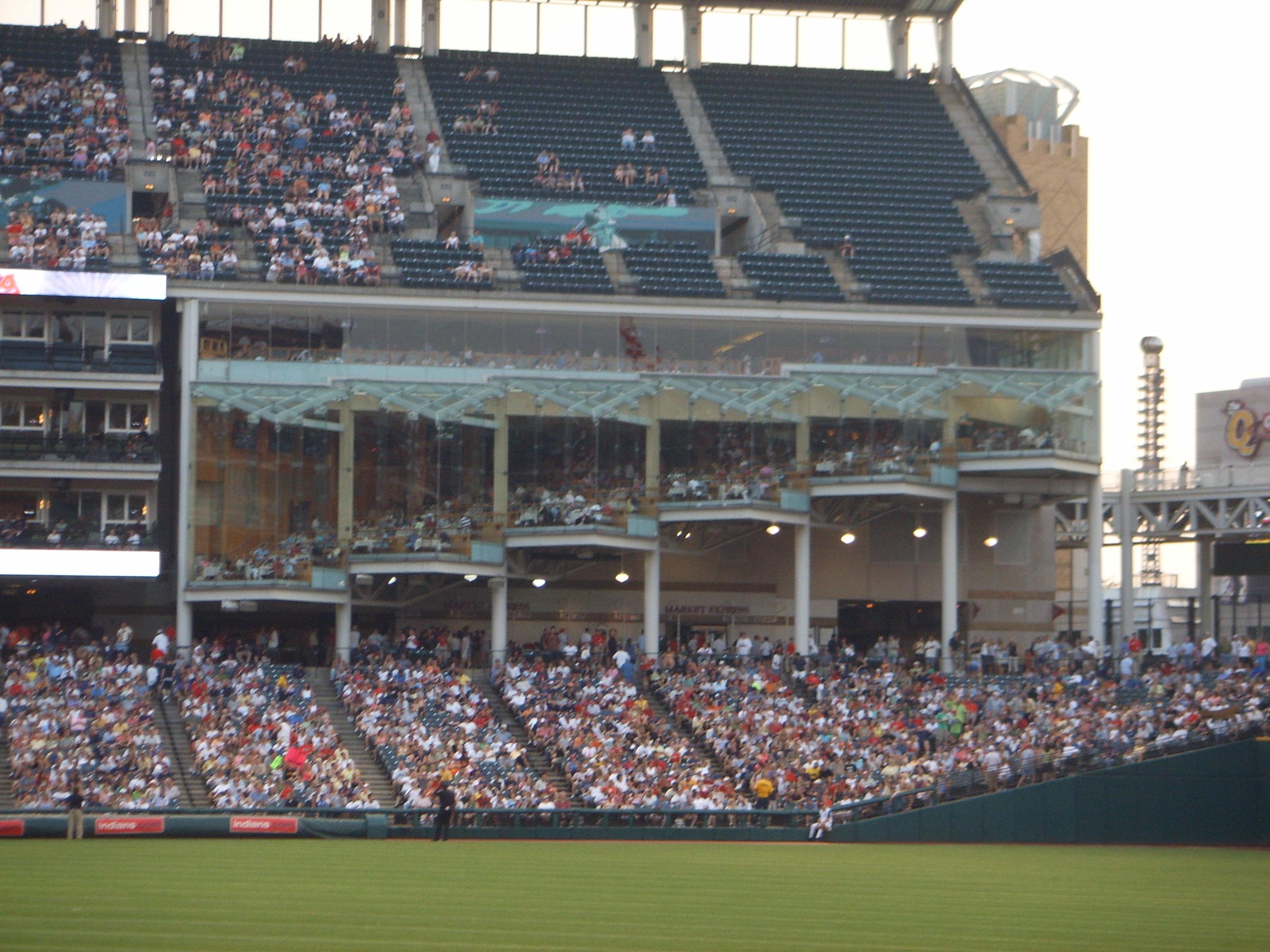 Ballparks Jacobs Field